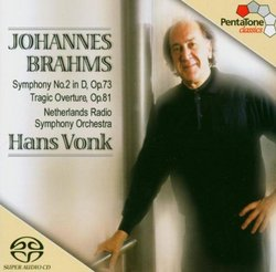 Brahms Symphony No. 2 in D / Tragic Overture Op. 81 (Multichannel Hybrid SACD)