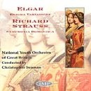 Richard Strauss: Symphonia Domestica, Op. 53/Edward Elgar: Variations On An Original Theme, Op. 36