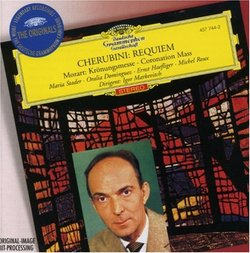 Cherubini: Requiem; Mozart: Coronation Mass / Markevitch