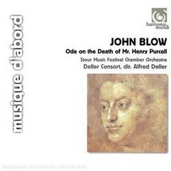 John Blow: Ode on the Death of Mr. Henry Purcell