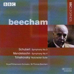 Beecham: Symphony 3 / Symphony 4 / Nutcracker Ste