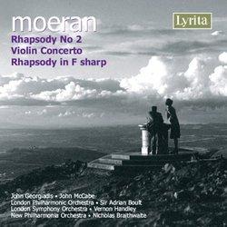 Moeran: Rhapsody No. 2; Violin Concerto; Rhapsody in F sharp