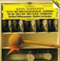 "Symphonies 94 "" Surprise "" & 101 "" Clock """