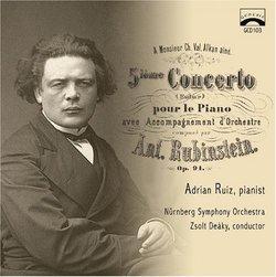 Anton Rubinstein Zsolt Deaky Nuumlremberg Symphony Orchestra