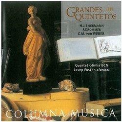Henrich Baermann / Franz Krommer / Carl Maria von Weber: Clarinet Quintet in E-flat Major, Op.23 / Clarinet Quintet in B-flat Major, Op.95 / Clarinet Quintet in B-flat Major, Op.34