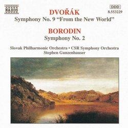 """Dvorák: Symphony No. 9 """"From the New World'; Borodin: Symphony No. 2"""