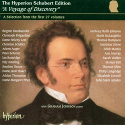 """The Hyperion Schubert Edition - """"A Voyage of Discovery"""", a selection from the first 27 volumes"""