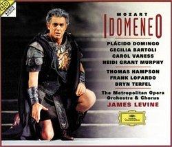 Mozart - Idomeneo / Domingo, Bartoli, Grant Murphy, Vaness, Hampson, Terfel, Lopardo, MET, Levine