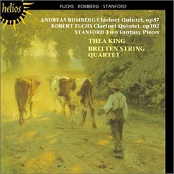 Andreas Romberg, Robert Fuchs: Clarinet Quintets; Stanford: Two Fantasy Pieces