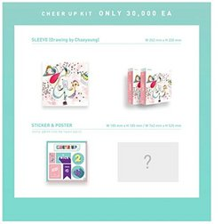Twice - TWICE Page Two CD Sleeve Sticker Special Limited Folded