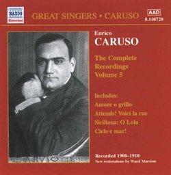 Enrico Caruso: The Complete Recordings, Vol. 5