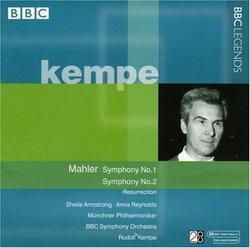 Mahler: Symphony No. 1; Symphony No. 2