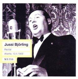 Jussi Björling Recital