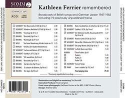 Kathleen Ferrier Remembered