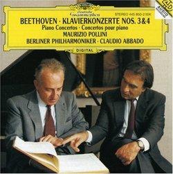 Beethoven: Klavierkonzerte Nos. 3 & 4 [Germany]