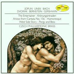 Czech Philharmonic Brass Plays Joplin, Bach, etc.