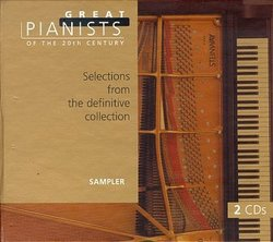Great Pianists of the 20th Century - Selections from the definitive collection [Sampler]