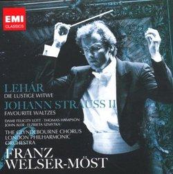 Lehár: Die lustige Witwe; Johann Strauss II: Favorite Waltzes