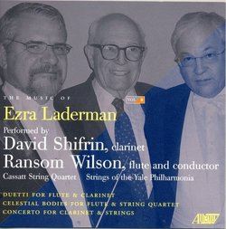 Music of Ezra Laderman, Vol. 8