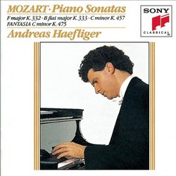 Piano Sonatas K. 332, 333, 475 & 457
