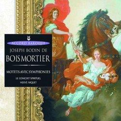 Motets Avec Symphonies-Le Concert Spirituel-Herve
