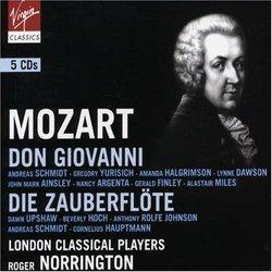 Mozart: Don Giovanni (Prague and Vienna Versions); Die Zauberflöte [Box Set]