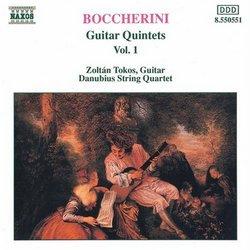 Boccherini: Guitar Quintets, Vol. 1