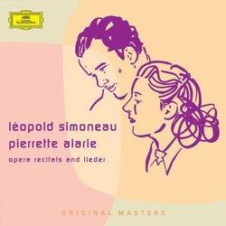 Léopold Simoneau and Pierrette Alarie: Opera Recitals and Lieder [Box Set]