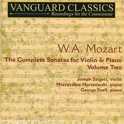 W.A. Mozart: The Complete Sonatas for Violin & Piano, Vol. 2