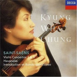 Saint-Saens: Violin Concertos 1 & 3