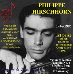 Philippe Hirschhorn: Live Performances 1967-1977