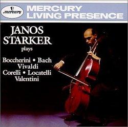 JANOS STARKER plays Boccherini, Bach, Vivaldi, Corelli, Locatelli, Valentini