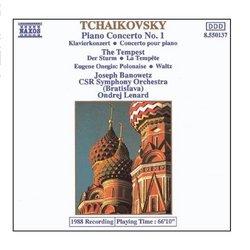 Tchaikovsky: Piano Concerto No. 1 / The Tempest