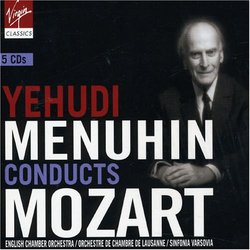 Yehudi Menuhin Conducts Mozart