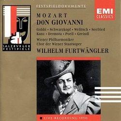 Mozart: Don Giovanni / Furtwangler / Salzburg Festival