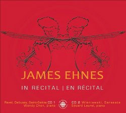 James Ehnes in Recital