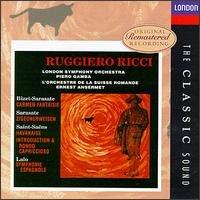 Ruggiero Ricci:  Carmen Fantasy/Zigeunerweisen/Symphonie espagnole/Havanaise/Introduction & Rondo capriccioso