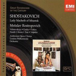 Lady MacBeth de Mzensk (I) - Vichnevskaya, Gedda