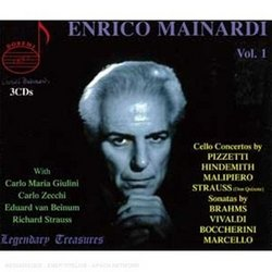 Enrico Mainardi: Cello Concertos, Vol. 1