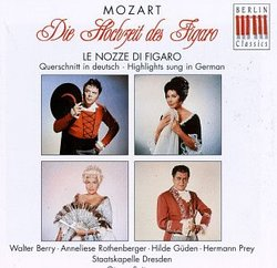 Mozart: Le nozze di Figaro [Highlights sung in German]
