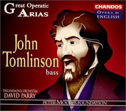 John Tomlinson - Great Operatic Arias / PO, David Parry [in English]