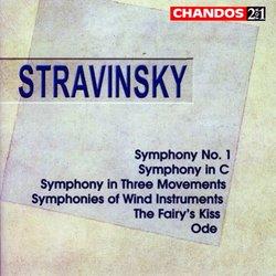 Igor Stravinsky: Symphony No. 1; Symphony in C; Symphony in Three Movements; Symphonies of Wind Instruments; etc