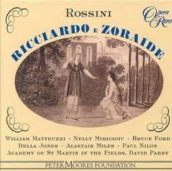 Rossini - Ricciardo e Zoraide / Matteuzzi · Miricioiu · B. Ford · D. Jones · A. Miles · Nilon · Parry