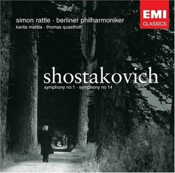 Shostakovich: Symphonies #1 & 14 - Sir Simon Rattle, Berlin Philharmonic Orchestra