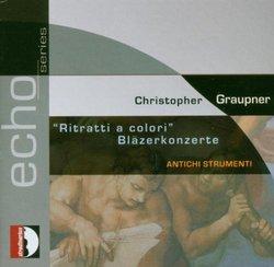 Christopher Graupner: Bläzerkonzerte