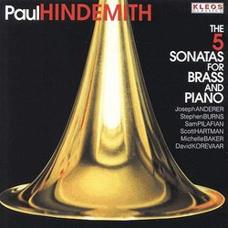 Hindemith: The 5 Sonatas for Brass & Piano
