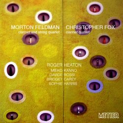 Feldman & Fox Clarinet & String Quartet