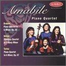Brahms, Bridge, Turina: Piano Quartets