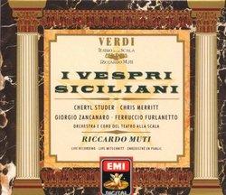 Verdi - I vespri Siciliani / Studer · Merritt · Zancanaro · Furlanetto · Teatro alla Scala · Muti