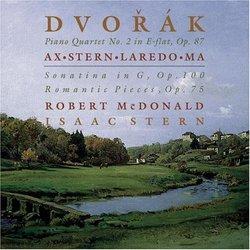 Dvorak: Piano Quartet No.2, Romantic Pieces